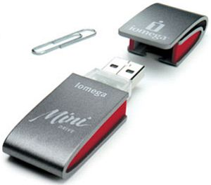 LenovoEMC Mini Drive  128MB, USB 1.1 (32579)
