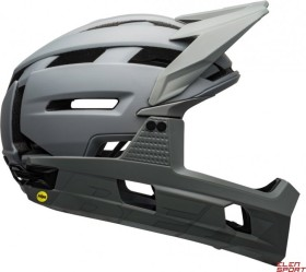 Bell Super Air R MIPS Fullface-Helm matte/gloss grays (7113688/7113689/7113690)