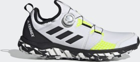 adidas Terrex Agravic Boa non dyed/core black/solar yellow (Herren) (FY9456)