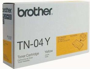 Brother TN-04Y toner żółty -- via Amazon Partnerprogramm