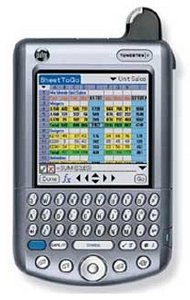 Palm Tungsten W niemiecki, 16MB, Palm OS 5.0 (P80505DE)