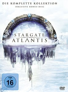 *Schnell* Stargate Atlantis - Staffel 1-5 (Komplett) 35€