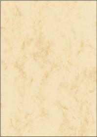 Sigel marble paper A4, beige, 90g/m² (DP372)