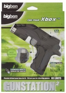 BigBen XK21 Lightgun + pedal + holder (PS2)