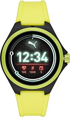 Puma Smartwatch gelb/schwarz -- via Amazon Partnerprogramm