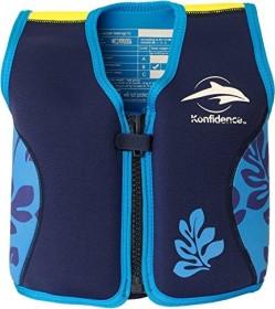 Konfidence Schwimmweste navy/blue palm (Junior)