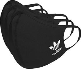 adidas Originals Face Cover Mundschutz-Maske waschbar XS/S schwarz, 3 Stück (HB7856)