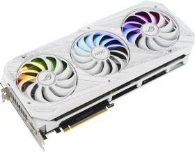 ASUS ROG Strix GeForce RTX 3080 White, ROG-STRIX-RTX3080-10G-WHITE, 10GB GDDR6X, 2x HDMI, 3x DP (90YV0FA6-M0NM00)