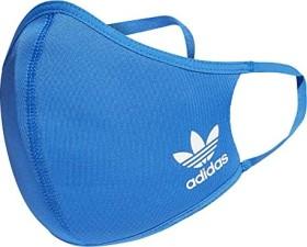adidas Originals Face Cover Mundschutz-Maske waschbar XS/S blau, 3 Stück (H32392)
