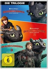 Drachenzähmen leicht gemacht Box (Filme 1-3) (DVD)