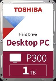 Toshiba P300 Desktop PC 1TB, SATA 6Gb/s, retail (HDWD110EZSTA)