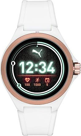 Puma Smartwatch weiß/rosegold -- via Amazon Partnerprogramm