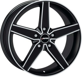 Autec type D Delano 8.0x18 5/108 black (various types)