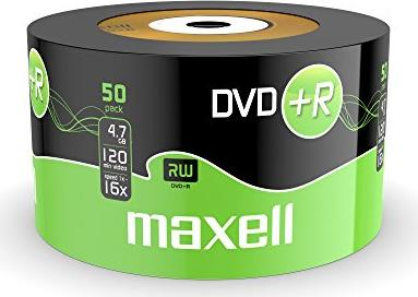 Maxell DVD+R 4.7GB, sztuk 50 -- via Amazon Partnerprogramm