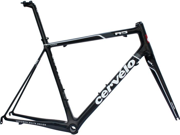 Cervélo R5 VWD model 2012 Road frame -- Photo: Cervélo