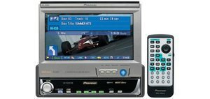 "Pioneer AVH-P6400R 6.5"" Wide Screen LCD Colour wyświetlacz, radio"