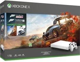 Microsoft Xbox One X - 1TB Forza Horizon 4 Special Edition Bundle white