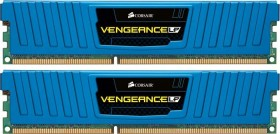 Corsair Vengeance LP blau DIMM Kit 8GB, DDR3-1866, CL9-10-9-27 (CML8GX3M2A1866C9B)