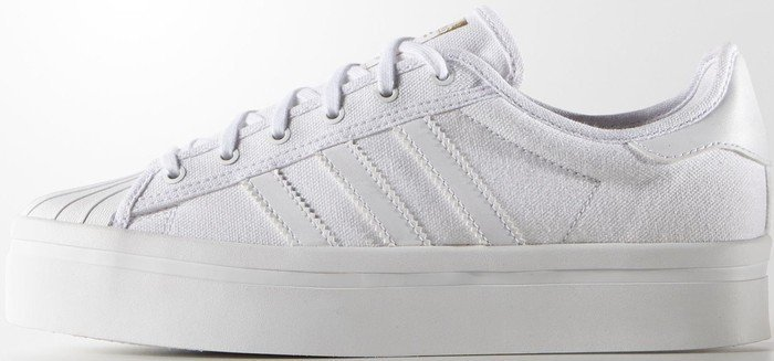 qowxc adidas Superstar Rize white/gold met (ladies) (S82570) | Skinflint