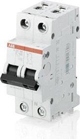 ABB Sicherungsautomat S200, 2P, C, 80A (S201-C80NA)