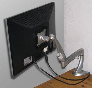 Ergotron Neo-Flex LCD Arm Tischbefestigung (45-174-300) -- © bepixelung.org