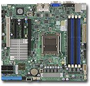 Supermicro H8SCM-F, AMD SR5650 (Socket C32, dual PC3-10667R reg ECC DDR3)