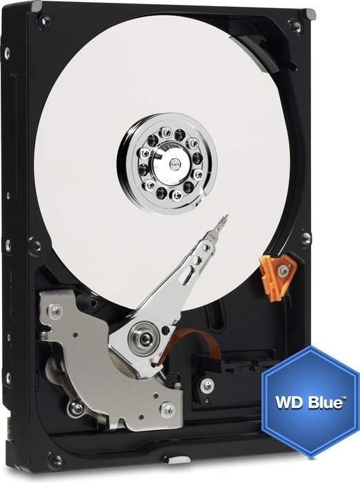Western Digital WD Blue 500GB, 7200rpm/16MB Cache, SATA 6Gb/s (WD5000AAKX)