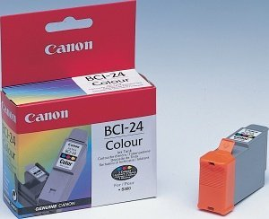 Canon ink BCI-24C coloured (6882A002/6882A026)