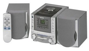 elta 2428 music center with CD player