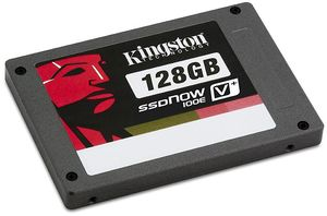 "Kingston SSDNow V+ 100E 128GB, 2.5"", SATA II (SVP100ES2/128G)"