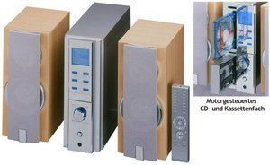 elta 2486 Design Music- Center mit CD- Player und PLL- Tuner