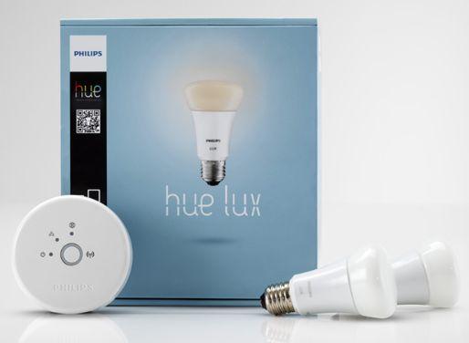 Philips Hue Lux Connected LED-Bulb E27 Starter-Kit (797098-00)