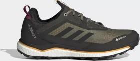adidas Terrex Agravic Flow GTX legacy green/core black/solar gold (Herren) (FU7450)