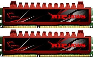 G.Skill RipJaws DIMM Kit   4GB, DDR3-1600, CL9-9-9-24 (F3-12800CL9D-4GBRL)
