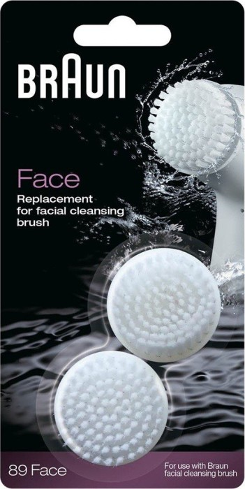 Braun 89 Face refill pack for facial cleansing brush
