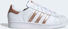 adidas Superstar cloud white/copper met./core black (Damen) (EE7399)