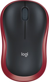 Logitech M185 Wireless Mouse Red, USB (910-002240/910-002237)