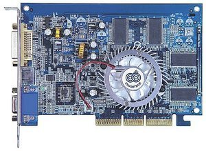 Chaintech A-FX60-Y, GeForceFX 5600XT, 256MB DDR, DVI, TV-out, AGP