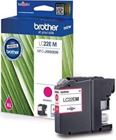 Brother Tinte LC22EM magenta hohe Kapazität