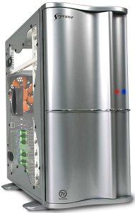 Thermaltake Soprano silber, Acrylfenster (VB1000SWS)