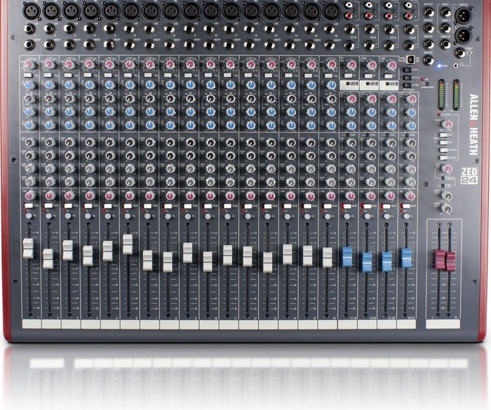 Allen&Heath ZED-24 analog mixer, USB
