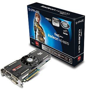 Sapphire Radeon HD 6970 FleX, 2GB GDDR5, 2x DVI, HDMI, 2x mini DisplayPort, full retail (11187-06-40G)