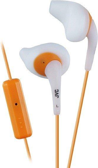 JVC Gumy Sport HA-ENR15 weiß/orange (HA-ENR15-W)