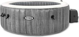 Intex PureSpa Bubble GreyWood Deluxe Whirlpool (28440)