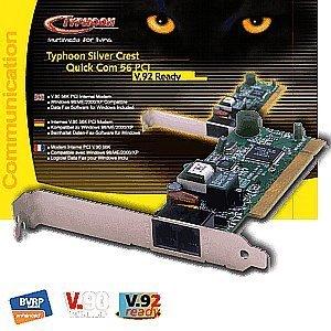 Anubis Typhoon Quick Com 56K V92 modem PCI (51302)