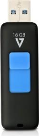 V7 Slider 16GB, USB-A 3.0 (VF316GAR-BLK-3E)