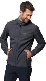 Jack Wolfskin Northern Point Jacke ebony (Herren) (1304001-6248)
