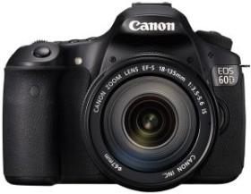 Canon EOS 60D schwarz mit Objektiv EF-S 18-135mm 3.5-5.6 IS und EF 40mm 2.8 STM (4460B230)