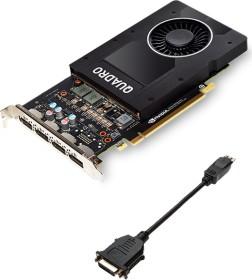 PNY Quadro P2000, 5GB GDDR5, 4x DP (VCQP2000-PB)