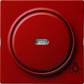 Gira Abdeckung mit Symbol und Wippe, rot (0285 43)